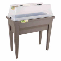 EDA Hochbeet VEG&Table City taupe, 57L