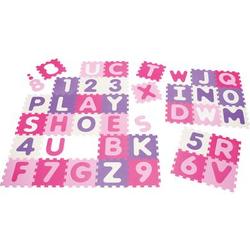 Playshoes EVA Puzzlematte 36-teilig