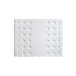 Zewotherm Fußbodenheizung Trockenbau Profilplatte aus EPS Dicke 25 mm (Paket 17,25 m²)