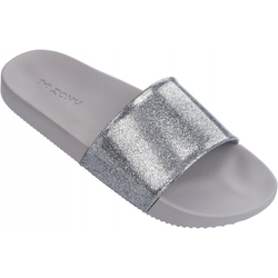 ZAXY SNAP GLITTER SLIDE Sandale 2018 glitter silver - 41/42