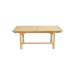 Ploß Gartentisch NASHVILLE, ECO-TEAK® Holztisch - Rechteckig - Ausziehbar