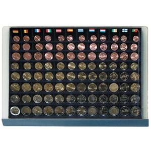 SAFE 6440 Stapelelement Münzbox - passend für 12 x Komplette Eurosätze 1 cent - 2 Euro