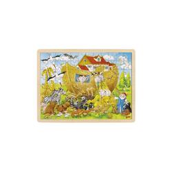 goki Steckpuzzle Einlegepuzzle Einzug in die Arche Noah, Puzzleteile