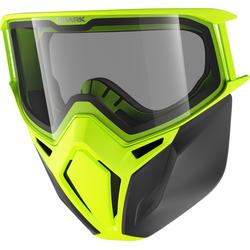 Shark Street Drak Motorradbrille und Maske Set, gelb
