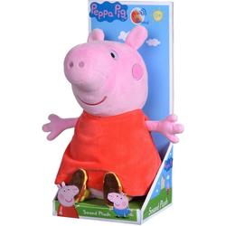 SIMBA Kuscheltier Peppa Pig, Peppa, 22 cm, mit Sound