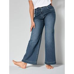Flare Cut Jeans Nora Dollywood Blau
