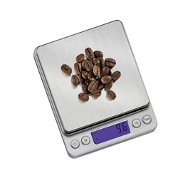 ZASSENHAUS präzise Digitalwaage Kaffeewaage BARISTA Edelstahl