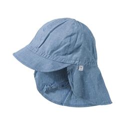 MAXIMO Schirmmütze Kinder Schirmmütze blau 49