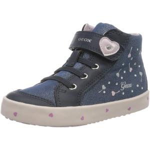 Geox Baby Mädchen B Kilwi Girl G Sneaker, Blau (Navy/Pink C0694), 20 EU