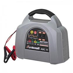 Unicraft ABC 11 - Batterielade-/erhaltegerät automatisch, für Wet-, Gel- und AGM-Batterien mit 12 Volt Ladespannung, Ladekapazität 8 A