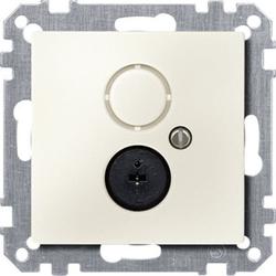 Merten 295944, Lautsprecher-Steckdosen-Einsatz, weiß, System M