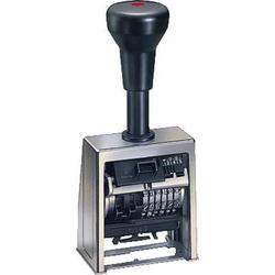 Reiner Numeroteur B6 Paginierstempel 23 x 6mm (B x H) Chrom, Schwarz