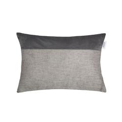 Zierkissenhülle Way in grau, 38 x 58 cm