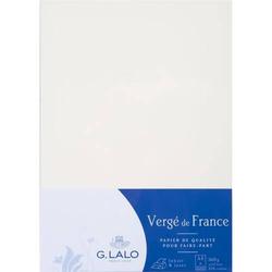 Papier Verge A4 160g/qm VE=100 Blatt weiß