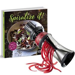 GEFU Spiralschneider Spirelli XL mit Kochbuch