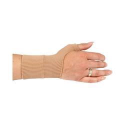 Bestlivings Hallux-Bandage, 1-tlg., Daumenbandage Gelenkschoner mit Geleinsatz für rechte und linke Daumen unisex Daumenstütze braun