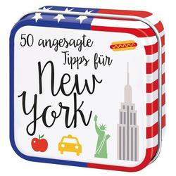 50 angesagte Tipps für New York als Buch von