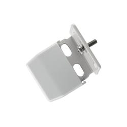 Sichtschutzzüge Montagezubehör, sunlines, Plissees, (Packung, 5-tlg), für die Rahmen/-Wandmontage von Plissees grau