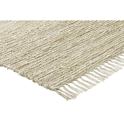 Teppich mit Naturfaser natur ca. 90/160 cm