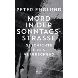 Mord in der Sonntagsstraße als Buch von Peter Englund