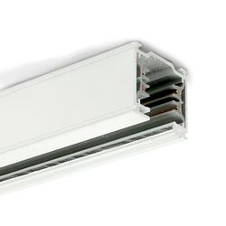 3-Phasen Stromschiene 2m Weiß
