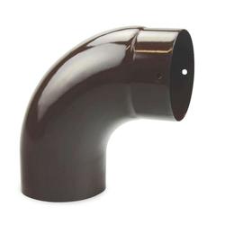 Ø 100 mm Ofenrohr Bogen glatt 90° emailliert Braun