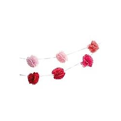 Pompon Girlande, Pink, FSC Mix