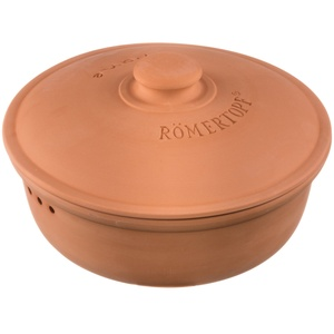 Römertopf Runder Brottopf MEDIUM Terracotta Ø 23 cm