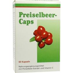 Preiselbeer Caps
