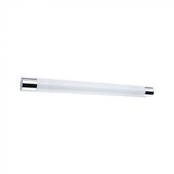 Paulmann 79713 LED Spiegelleuchte Orgon IP44 10,5W 700mm Chrom/Weiß mit Steckdose