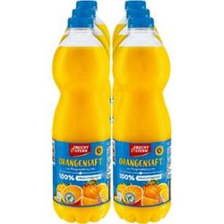 Fruchtstern Orangensaft 1,5 Liter, 6er Pack