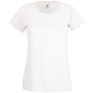 Fruit of the Loom T-Shirt Large Bianco
