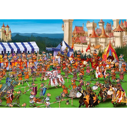 Piatnik Puzzle Ritterspiele, 1000 Puzzleteile