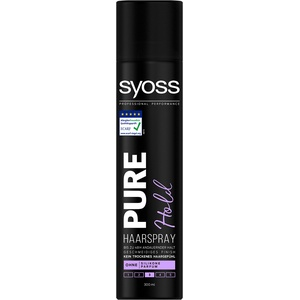 Syoss Haarspray 300ml Pure Hold, 1er Pack (1 x 300 ml)