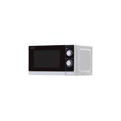 Sharp Mikrowelle R200INW Mikrowelle Silbermetallic, Mikrowelle, 20.0 l