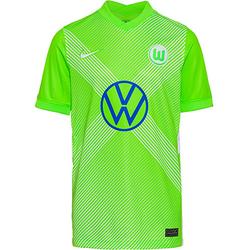 Trikot VFL Wolfsburg 20-21 Heim Trikots Kinder grün Gr. 140  Kinder