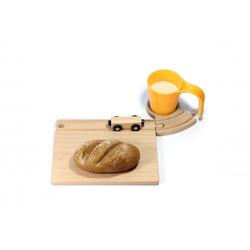 Holz Eisenbahn Frühstücksset