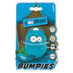 Coockoo Hundespielzeug Bumpies Mint, Maße: 7 x 5,6 x 4,8 cm