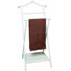 Handtuchhalter Antik, Handtuchhalter, 33512065-0 weiß weiß