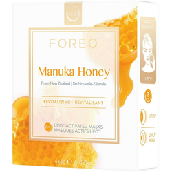 FOREO Tuchmaske Manuka Honey Packung, 6 x 6 g, kompatibel mit UFO & UFO mini