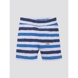 TOM TAILOR Baby Gestreifte Shorts, blau, gestreift, Gr.62