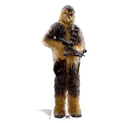 empireposter Dekofigur Star Wars - EP7 Chewbacca - Pappaufsteller in Lebensgrösse 193 cm