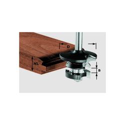 Festool Konterprofilfräser Feder HW Schaft 8 mm D 43 mm NL 21 mm Nr. 491130
