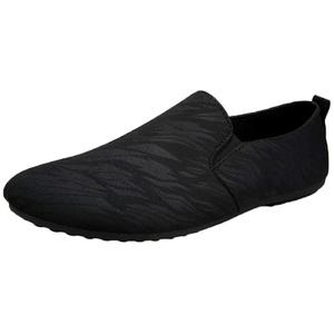 Alwayswin Slipper Mokassins Herren Freizeitschuhe Canvas Schuhe Sommer Retro Lazy Schuhe Britische Erbsen Schuhe Faule Schuhe Herrenschuhe