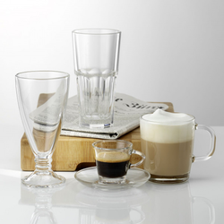 Eiskaffeeglas-Set COFFEE SELEC(H 17 cm)