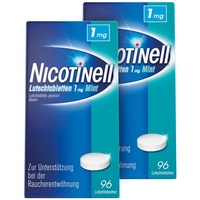 Nicotinell Mint 1 mg Lutschtabletten 2 x 96 St.