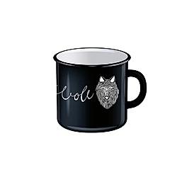 Kraftvoll - Emaille-Tasse