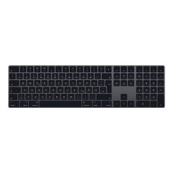 Apple Magic Keyboard mit Nummernblock - Space Grau