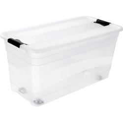 Aufbewahrungsbox »konrad«, Aufbewahrungsboxen, 89976044-0 farblos 39,5x79,5x41 cm farblos