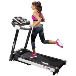 Miweba Sports Laufband HT1000, Incline 6% - Klappbar - 3,5 PS - 16 km/h max. - Tablet Halterung schwarz